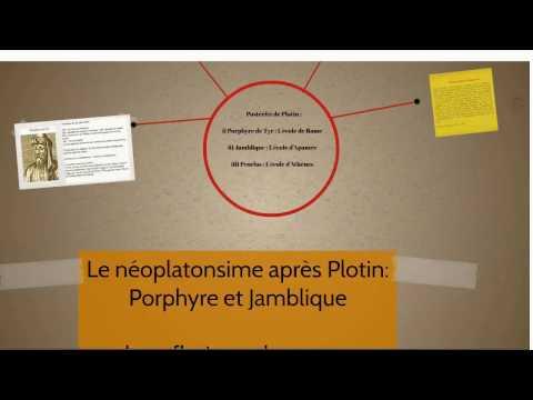 CDS Paris, le 7 avril 2017. 6 Le néoplatonisme après Plotin : Porphyre et Jamblique