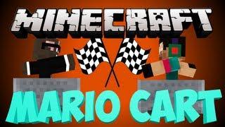 Minecraft NEW MARIO KART Minigame - Super Mine Karts