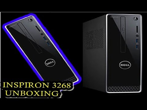 INSPIRON 3268 UNBOXING