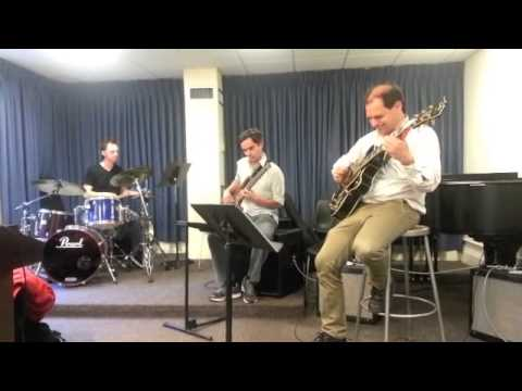 Ben Sher's  Berklee College  faculty Afro-Latin Trio Project