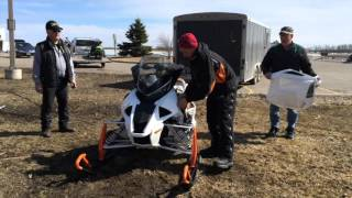8. How To: Hood and Side-Panel Removal on 2017 Arctic Cat 9000 and 6000 RS Models