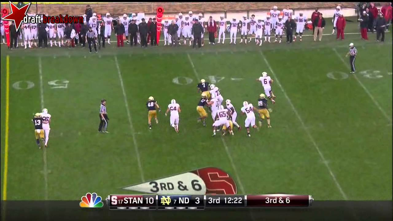 Stephon Tuitt vs Stanford (2012)