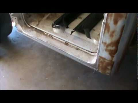 how to do rust repair part 1,  1967 TO 1972 chevy truck rocker panels