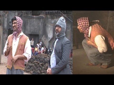 On Location Of Sushant Singh's Film Detective Byomkesh Bakshi