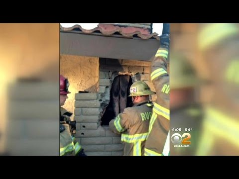Woman Gets Stuck Shimmying Naked Down Chimney