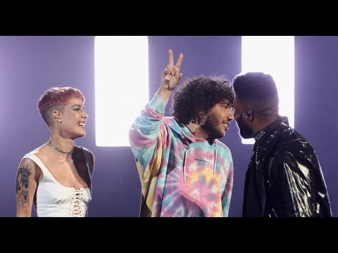 benny blanco, Halsey & Khalid - Eastside (AMAs Performance) - Thời lượng: 2 phút, 59 giây.