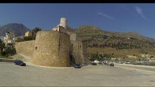 Castellammare del Golfo Italy  city photos gallery : Кастелламаре де гольфо Сицилия Италия Castellamare del Golfo Sicilia Italy Пешая прог