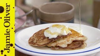 How To Make One Cup Pancakes | Jamie Oliver