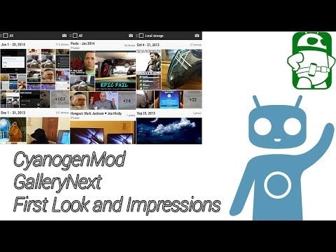CyanogenMod GalleryNext First Look and Impressions
