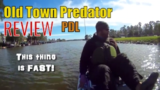 REVIEW! The NEW Old Town Predator PDL (Native Propel Killer?)