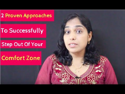 Watch '2 Proven Approaches To Successfully Step Out Of Your Comfort Zone - YouTube'
