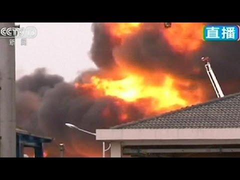 Κίνα: Εκρήξεις σε αποθήκη χημικών