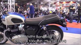 6. The 2018 TRIUMPH Bonneville T100 Classic Motorcycle