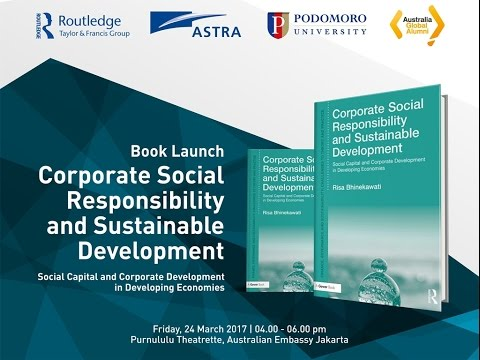 Book Launch - Corporate Social Responsibility and Sustainable Development by Risa Bhinekawati