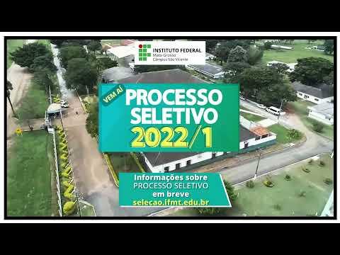 Processo Seletivo 2022/01 - Cursos técnicos