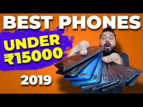 TOP 6 MOBILE PHONES UNDER 15000 BUDGET - JANUARY 2019 ⚡⚡⚡