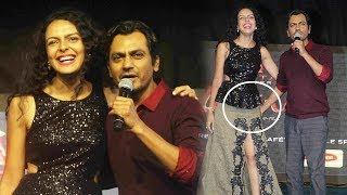 Nawazuddin Siddiqui Bidita Bag at Umang Festival 2017 for Babumoshai Bandookbaaz  Movie Promotion.Click this below link and subscribe to our channel to get all updates on Bollywood Movies, and your favorite Bollywood actresses and actors.http://goo.gl/cfijvC