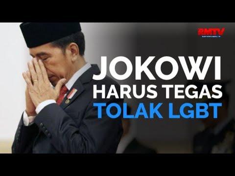 Jokowi Harus Tegas Tolak LGBT