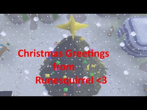Runescape 2007 Christmas Greetings from Runesquirrel