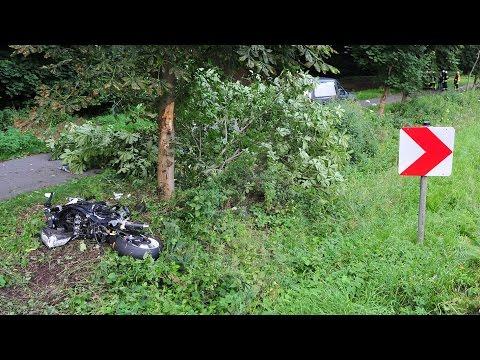 24-Jähriger stirbt bei Motorradunfall