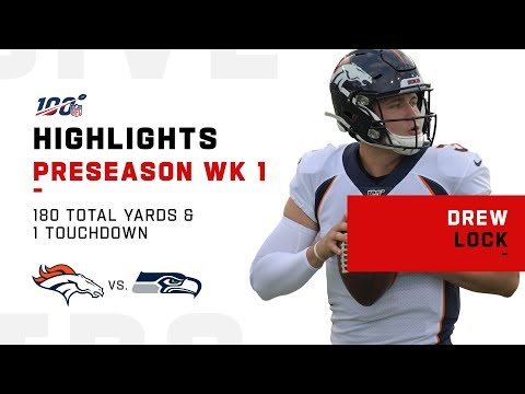 Every Drew Lock Pass & Run | NFL 2019 Highlights