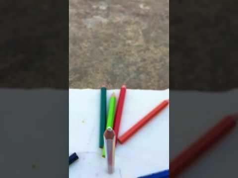 Blowing colours slomo