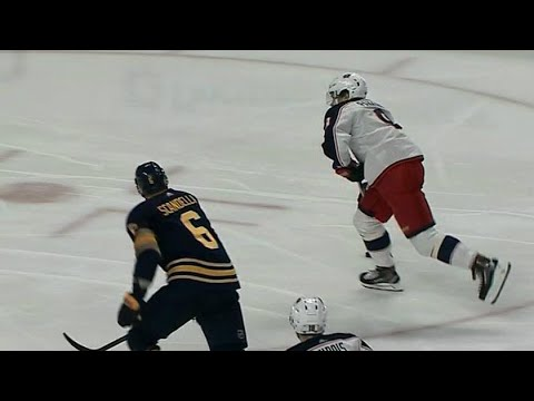 Video: Panarin snipes one off post past Lehner to score