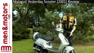 6. Malaguti Yesterday Scooter (2001) Review