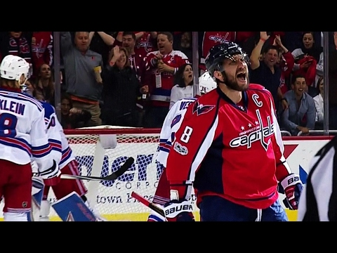 Video: Capitals pass it around, Ovechkin finishes but goal given to Williams