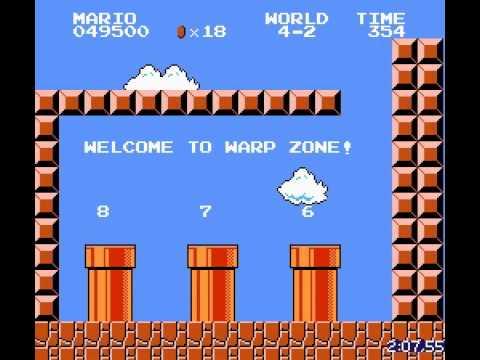 Самое быстрое прохождение Super Mario Bros