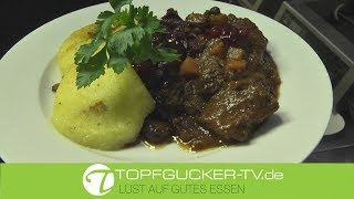 Marinierter Hirschgulasch | Topfgucker-TV