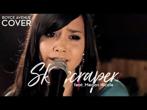 Skyscraper - Demi Lovato (Boyce Avenue feat. Megan Nicole acoustic cover) on iTunes & Spotify Video