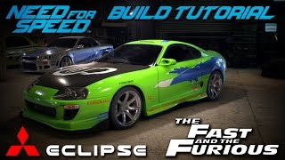 Nonton Need for Speed 2015 | The Fast & The Furious Brian's Mitsubishi Eclipse Build Tutorial | How To Make Film Subtitle Indonesia Streaming Movie Download