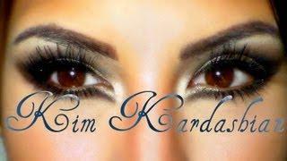 Kim Kardashian inspiracion (ojos) / eyemakeup inspiration - YouTube