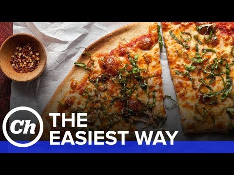 How to Make Easy Homemade Pizza -  The Easiest Way