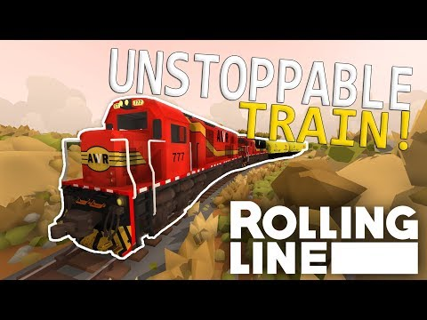 UNSTOPPABLE & HANK!?  - Rolling Line VR Toy Train Simulator  -  Map