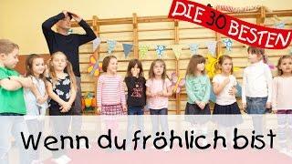 """""""Wenn du fröhlich bist, dann klatsche in die Hand"""" ist die deutsche Version eines sehr beliebten Kinderliedes, welches im Original """"If You're Happy And You Know It"""" heißt. Viele kennen die englische Version aus den Miniclubs in Europa.  Unser Kinderlieder Video zeigt welchen tollen Tanz man zu diesem Hit machen kann. Zum Mitmachen und Mitsingen: """"Wenn du fröhlich bist,dann klatsche in die Hand...""""Der Song """"Wenn du fröhlich bist"""" stammt in die diesem Fall von der DVD """"Die 30 besten Kinderlieder"""" und wird gesungen von Simone Sommerland, Karsten Glück & den Kita-Fröschen, welche auch in diesem Video zu sehen sind.Unsere besten Kinderlieder-Playlisten für unterwegs, die man auch wunderbar offline anhören kann, findet ihr auf unserem Spotify-Kanal:https://bit.ly/KinderliederTop100Spiel- und Bewegungslieder die besonders in Krabbelgruppen, Kindergärten und beim Kinderturnen großen Anklang finden. Hier gibt es eine Auswahl an Klassikern wie zum Beispiel """"Rommel - Bommel"""", """"Meine Hände sind verschwunden"""", """"5 kleine Fische"""" und """"Aramsamsam"""".Mehr findet ihr hier:Die DVD gibt es auch bei Amazon:♪ http://bit.ly/DVDKinderliederDas Album mit dem Lied bei Amazon kaufen:♪ http://bit.ly/kindergartenliederDas Lied bei iTunes kaufen:♪ http://bit.ly/iTunesKindergartenliederFolgt uns auf Facebook:http://facebook.com/die30bestenOder besucht unsere Webseite:http://lampundleute.deDer Liedtext zum Mitsingen:Wenn du fröhlich bist,dann klatsche in die Hand (klatsch, klatsch)!Wenn du fröhlich bist,dann klatsche in die Hand (klatsch, klatsch)!Wenn du fröhlich bist und heiter,ja, dann sag es allen weiter!Wenn du fröhlich bist,dann klatsche in die Hand (klatsch, klatsch)!Wenn du fröhlich bist,dann stampfe mit dem Fuß (stampf, stampf)!Wenn du fröhlich bist,dann stampfe mit dem Fuß (stampf, stampf)!Wenn du fröhlich bist und heiter,ja, dann sag es allen weiter!Wenn du fröhlich bist,dann stampfe mit dem Fuß (stampf, stampf)!Wenn du fröhlich bist,dann rufe laut Hurra (Hurra)!Wenn du fröhlich bist,dann"""
