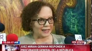 Miriam Germán acepta disculpas del Procurador RD, pero insiste en violación del reglamento CNM