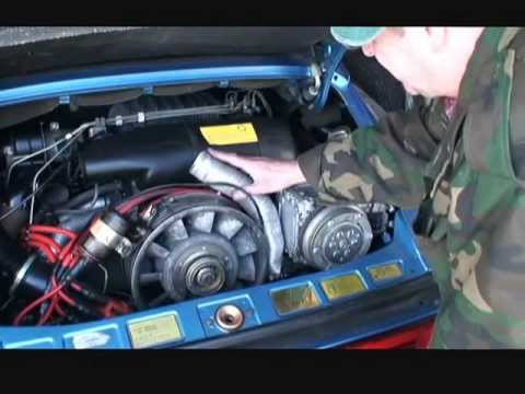 How to Replace a Heater hose on a 1982 Porsche 911SC