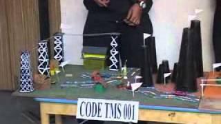Science Fair Model : Global Warming(Air/Water/Soil Pollution) ( Code TMS 001)