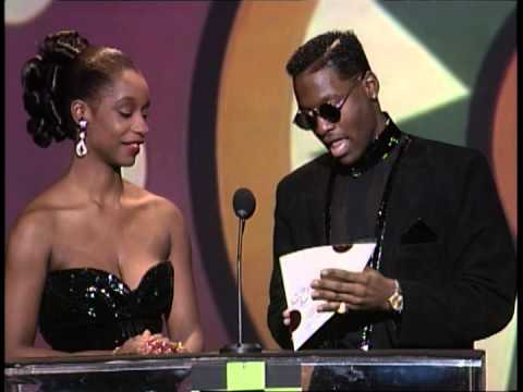 Janet Jackson (Musical Artist) - Janet Jackson wins Favorite Dance Artist Award at the 1991 American Music Awards. Janet was unable to attend the event.