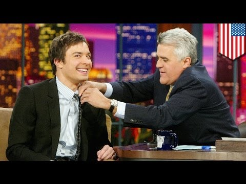 Jay Leno bids farewell to Tonight Show; Jimmy Fallon takes over