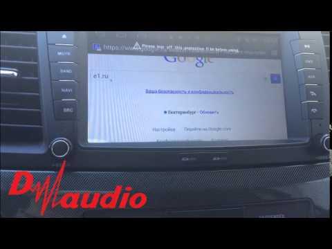 Штатное головное устройство Mitsubishi Lancer X