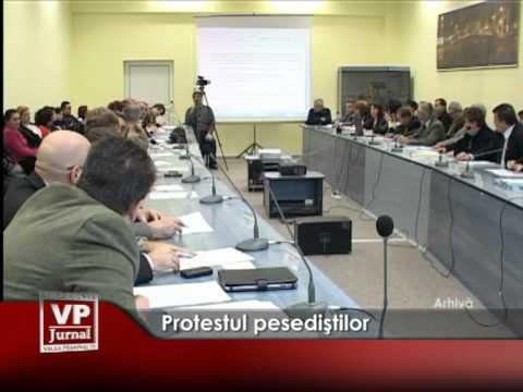 Protestul pesediştilor