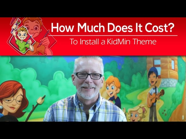 How Much Does It Cost To Install A Children's Ministry Theme?