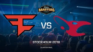 FaZe vs mousesports - DH MASTERS Stockholm - map2 - de_dust2 [GodMint, SSW]