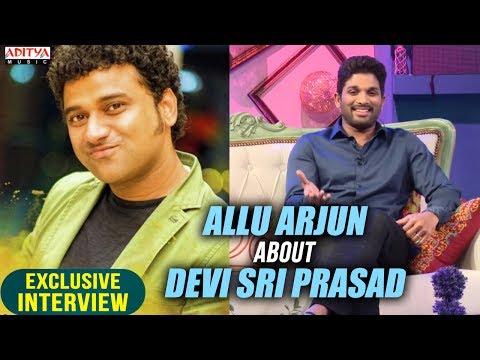Video Allu Arjun About DSP | Allu Arjun & Pooja Hegde Exclusive Interview About DJ download in MP3, 3GP, MP4, WEBM, AVI, FLV January 2017