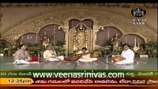 Venkatachala Nilayam - Sindhubhairavi - Adi Talam -Purandara Dasa -Veena D Srinivas.wmv