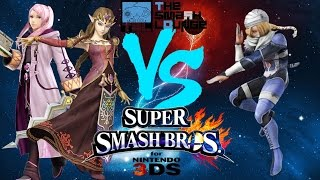 Robin vs Sheik, very hype, mediocre commentating (you've been warned)