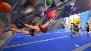 Nikken Just Found A New 8A Boulder by Eric Karlsson Bouldering